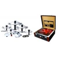 Premium Stainless Steel Cookware Set 16pc (Switzerland)