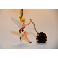 Tinker Bell Pine Cone Ornament