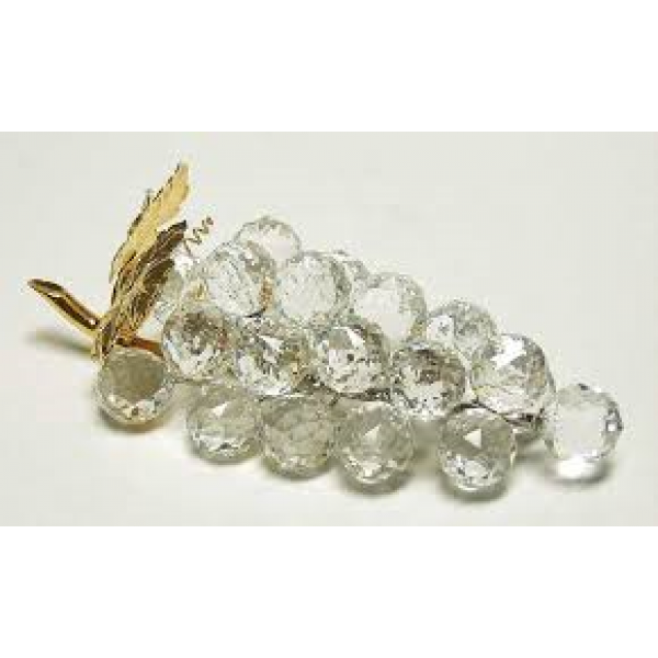"Silver Crystal ""Bunch of Grapes""  Swarovski"