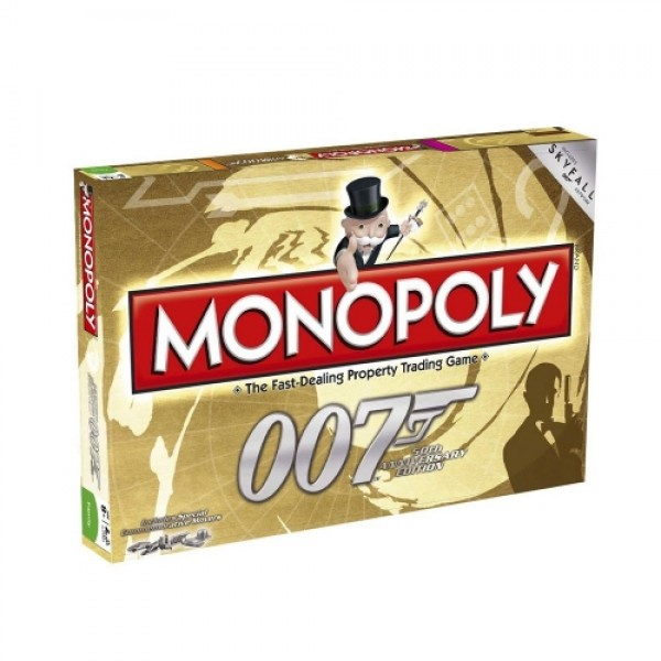 Monopoly 007 50th Anniversary Edition James Bond - Hasbro