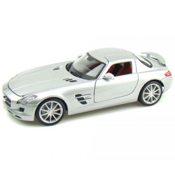 1 12 mercedes benz sls amg diecast model dealer box for Diecast mercedes benz