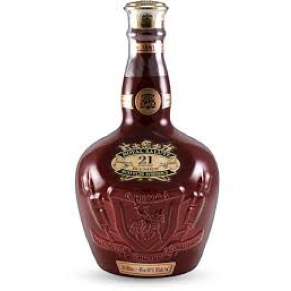 Chivas Regal Royal Salute 21 Year Old - Red Wade Ceramic Decanter (70cl)